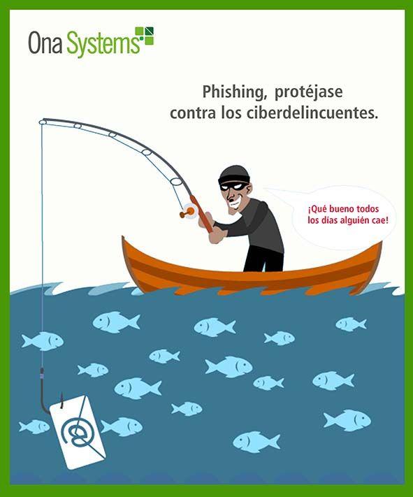 Phishing Protéjase contra los ciberdelincuentes