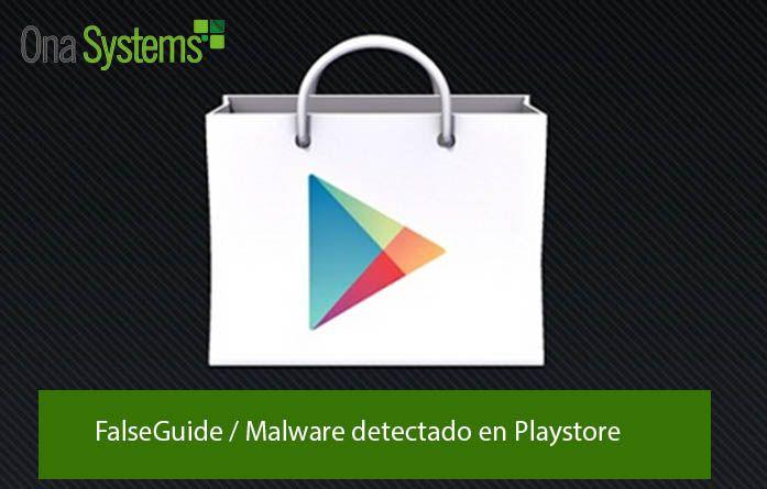 FalseGuide Malware detectado en PlayStore
